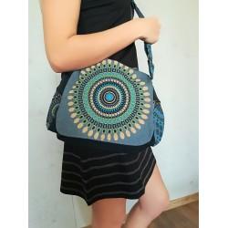 Modrá mandala taška